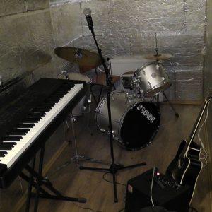 Hudobná miestnosť